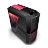 Zalman Z11 Plus HF1 Midi Black - Piros LED hűtővel (Z11 PLUS HF1)