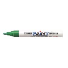 "Zebra Lakkmarker, 3 mm, ZEBRA ""Paint marker"", zöld filctoll, marker"