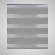 Zebra roló 120 x 230 cm Szürke redőny