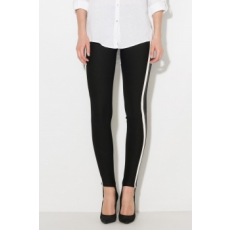 Zee Lane Denim , Pantallós leggings, Fekete, M (ZLD18S-J6207-BLACK-M)