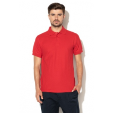 Zee Lane , Galléros póló, Piros, XL (ZL18S-TH-1-RED-XL)