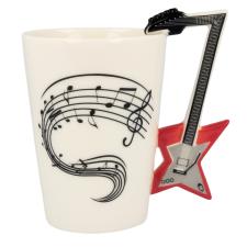 Zenész gitár bögre ajándéktárgy