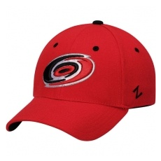 Zephyr Carolina Hurricanes baseball sapka Zephyr Breakaway Flex Red - S