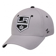 Zephyr Los Angeles Kings baseball sapka Zephyr Breakaway Flex Grey - XL
