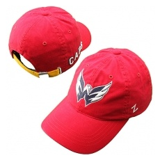 Zephyr Washington Capitals Siltes sapka Skate Lace