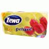ZEWA Deluxe toalettpapír 8 tekercses (3 rétegű) sárga