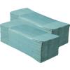 Zöld, egyrétegű hajtogatott papírtörölköző 5.000 lap