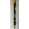 Zöld fém toll ón Budapest matricával