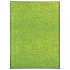 Zöld kimosható lábtörlő 90 x 120 cm lakástextília