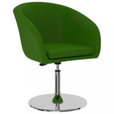 Zöld műbőr étkezőszék bútor