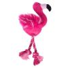 zooplus Exclusive Flamingó kötéllel kutyajáték