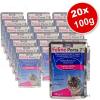 Zooplus Feline Porta 21 tasakos, gazdaságos csomagolásban 20 x 100 g - Tonhalas marhahússal