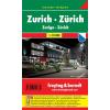 Zürich zsebtérkép - f&b PL 67 CP