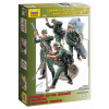 Zvezda Model Kit figurky 3583 - German Mortar with Crew (1:35)