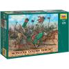 Zvezda Wargames (AoB) figurky 8076 - Mongols - Golden Horde (1:72)