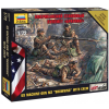 "Zvezda Wargames (HW) figurky 7414 - American Machine gun ""Browning"" (1:72)"