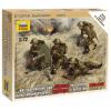 Zvezda Wargames (WWII) figurky 6167 - British Machine Gun with crew 1939-42 (1:72)